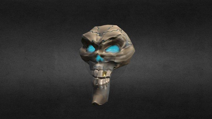 Skull Pirate B2C3 3D Model