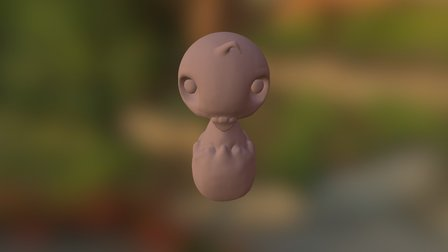 Baby Bird (Unfinished) 3D Model