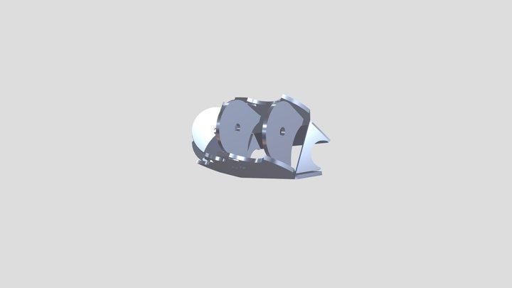 BRK-1031-3 3 3D Model