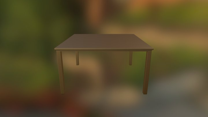 Stupid Table Thing 3D Model