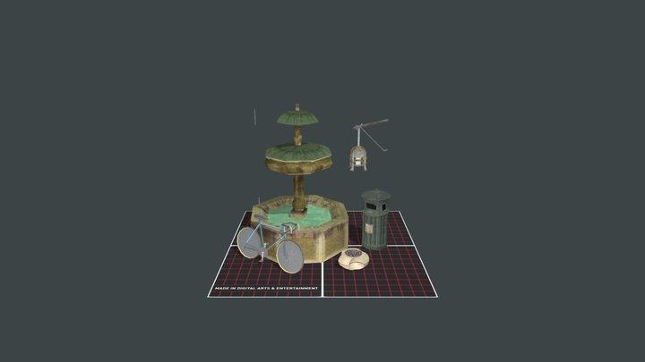 Prop Scene 1 DAE14 Strooybants Glenn 3D Model