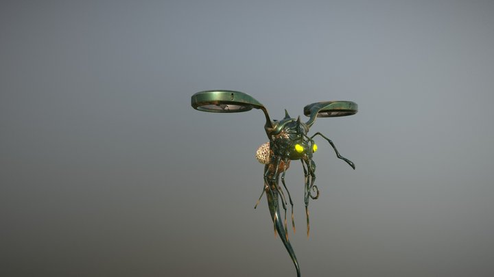 Insect texturing 3D Model