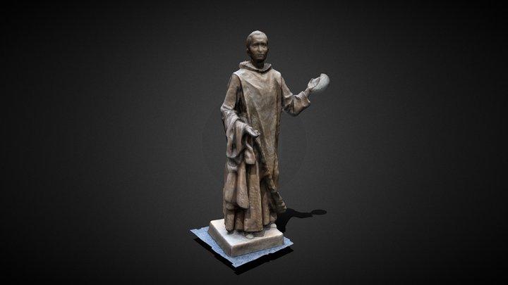 Statua Piccola 3D Model