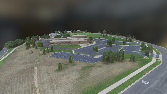 Elementary School 3D Model