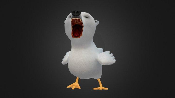 Polar Bear Duck 3D Model