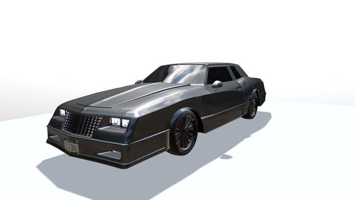 Chevrolet Monte Carlo SS 3D Model