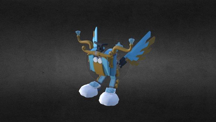 Magical Owl 3D Model