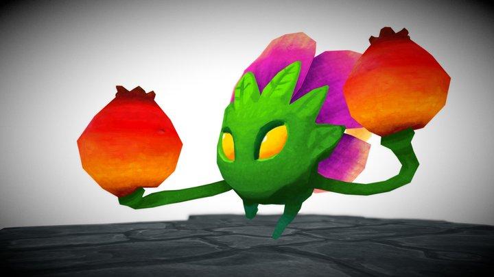 Crazy Critter Crate - Rosehips 3D Model