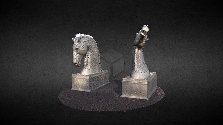 Kelpies Day (PhotoScan) 3D Model