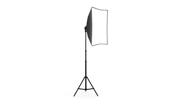 Simple Studio Light 3D Model