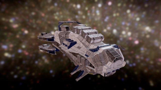 Dominium : Balaena Class Trader 3D Model