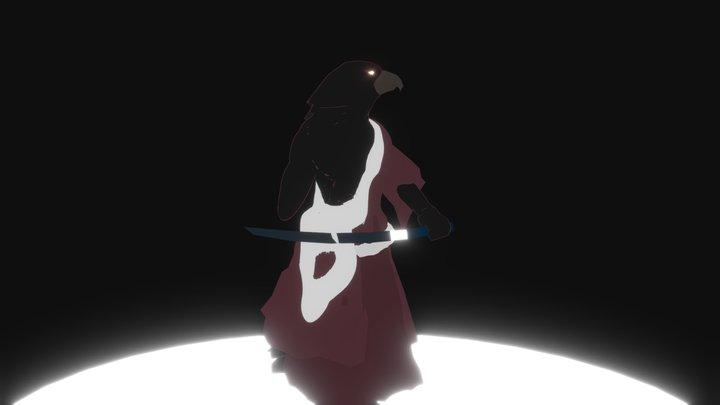 One arm Samurai 3D Model