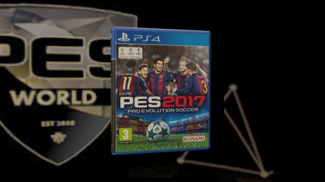 PS4 PES2017 CASE 3D Model