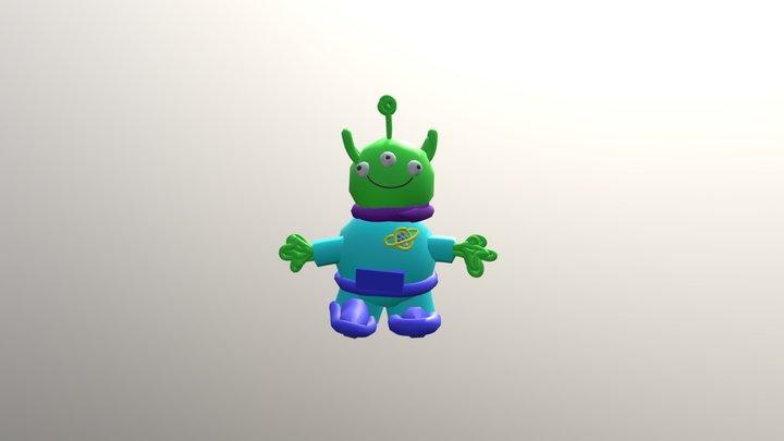 Toy Story Alien 3D Model