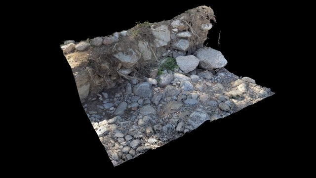 Erosion monitoring 3D Model
