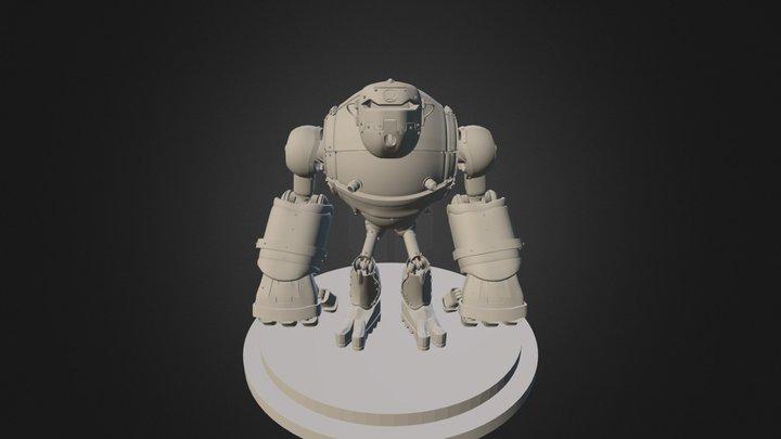 Inferno Mech 3D Model