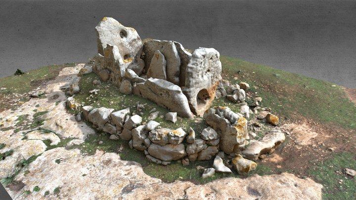 Dolmen de Ses Roques Llises 3D Model