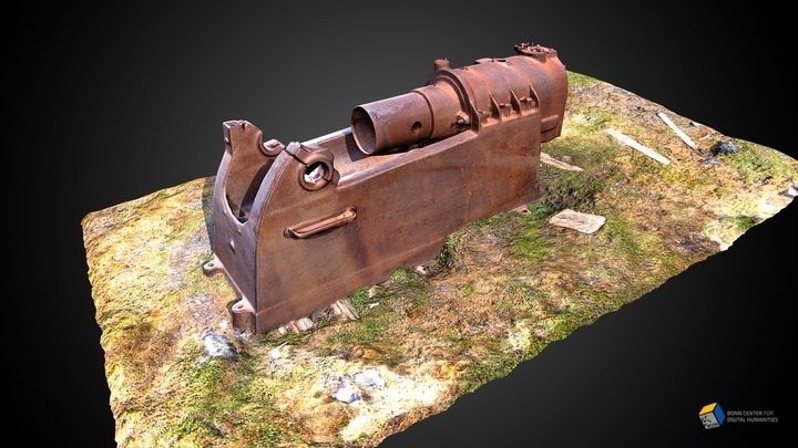 Campbell Gas Engine 3D Model