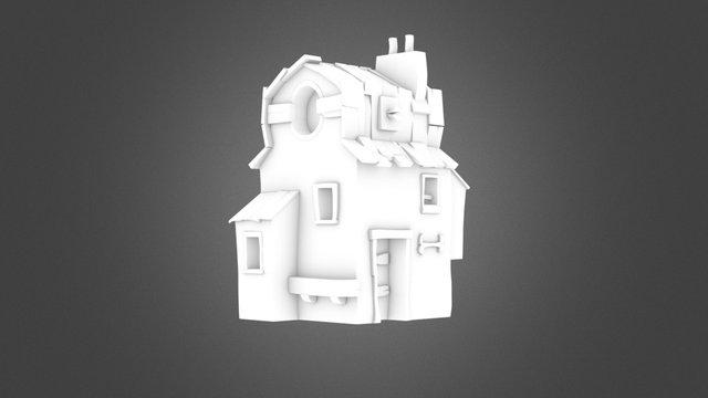 Desert House AO 3D Model