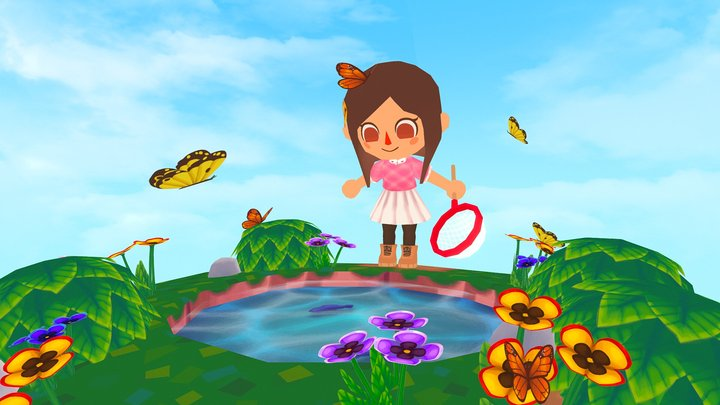Animal Crossing 3D Model