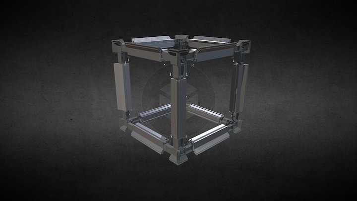 FH1490 Knuckle Joint Cube (Exploded) 3D Model