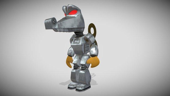 Krobot (Donkey Kong 64) 3D Model