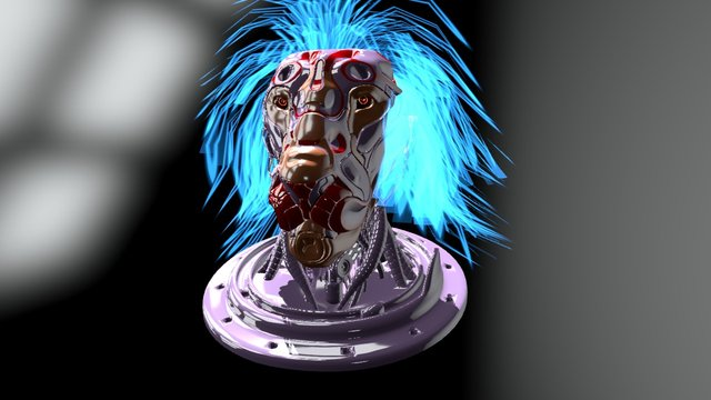 Lion Mech 3D Model
