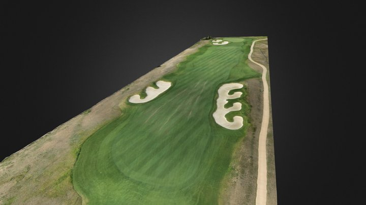 Golf Course Example 3D Model