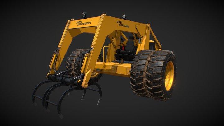 Super Carregadeira 3D Model