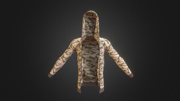 Hoodie (updated Version) 3D Model