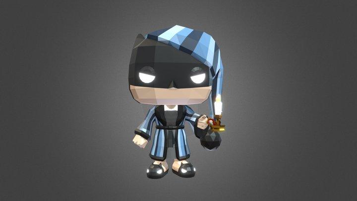 BATMAN as EBENEZER SCROOGE (Full) 3D Model