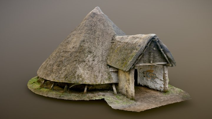 Iron Age Roundhouse | Reconstruction 3D Model