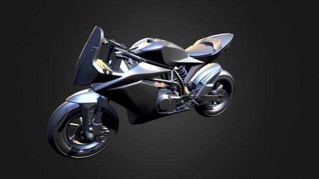 Moto Ohvale GP0 3D Model