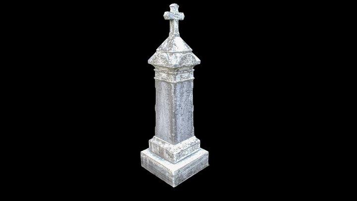 Gravestone Scan 3D Model