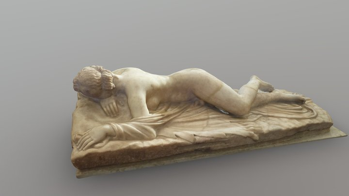 Sleeping Hermaphroditus / Ermafrodito dormiente 3D Model