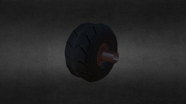 Rueda/Wheel 3D Model