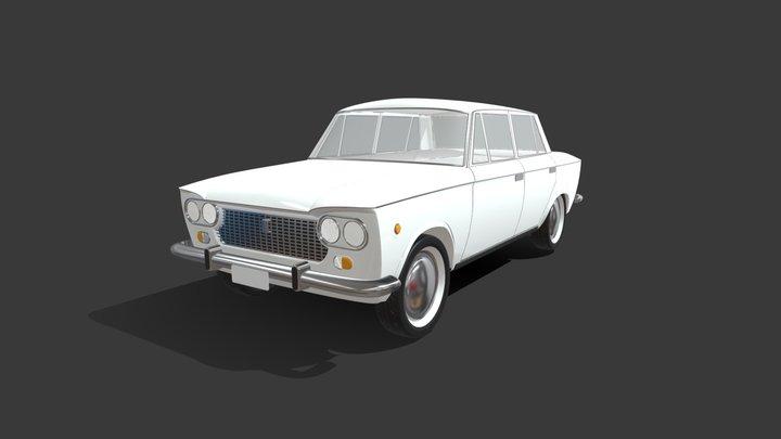 Fiat 1300 3D Model