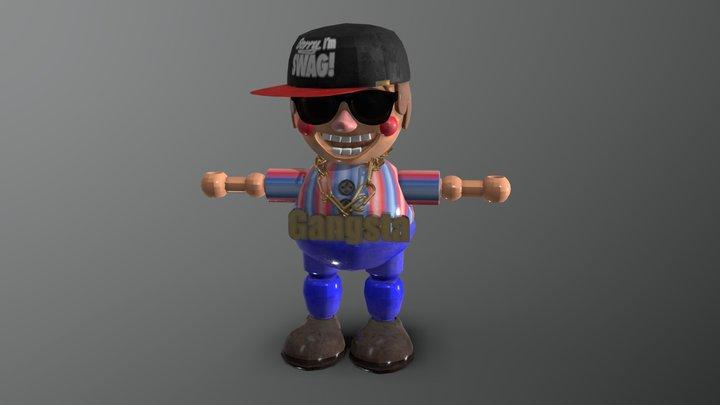 Balloon Boy - Swag Vers. (FNAFB ASL) 3D Model