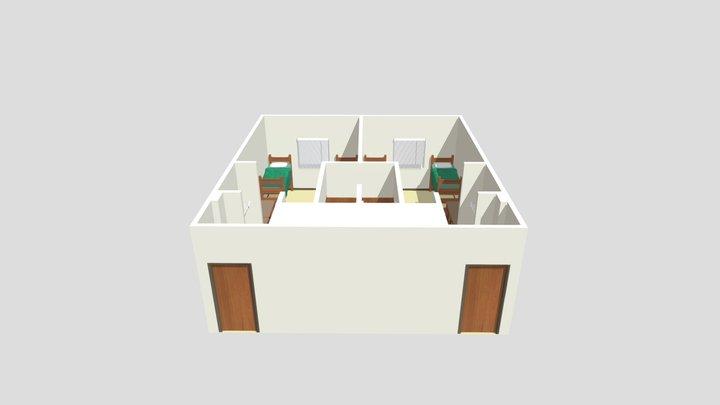 Juniper-Poplar Hall 3D Model