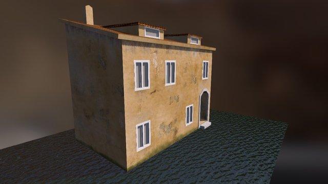 Venetian Building 3D Model
