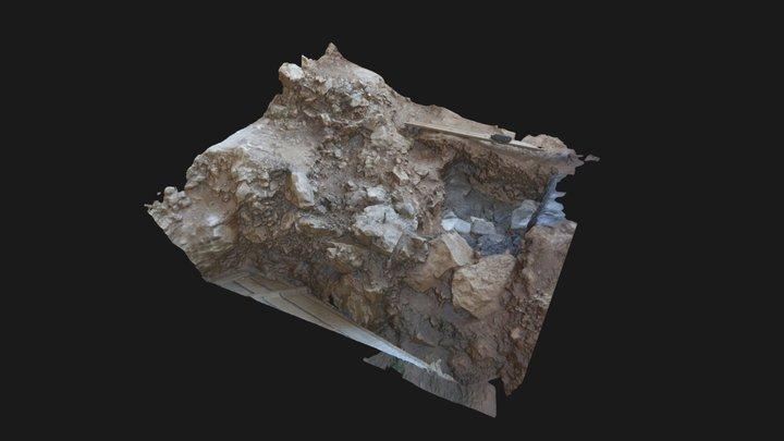 Crvena Stijena 2017 -Excavation Surface 18 3D Model