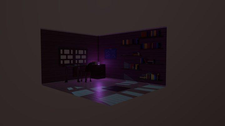 Midnight study 3D Model