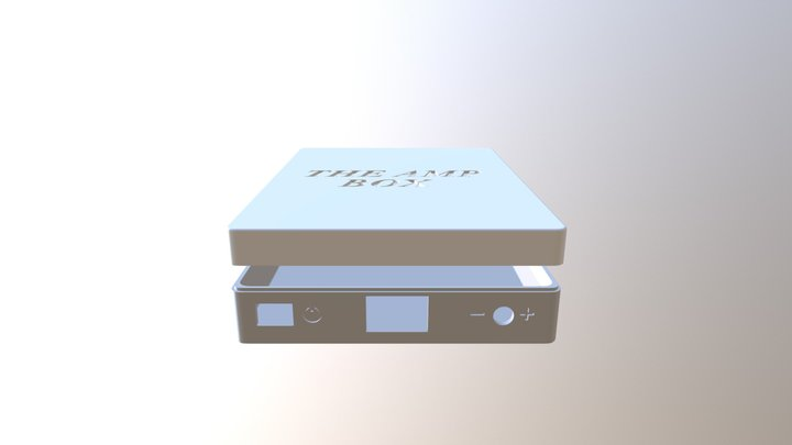 Box AUDIO 3D Model
