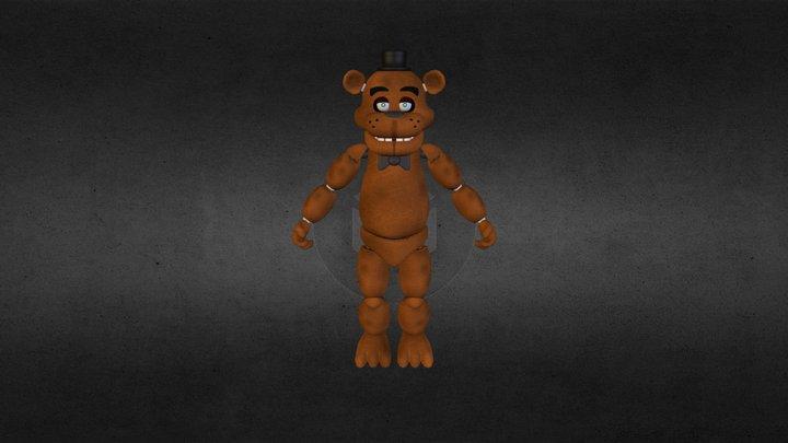 Freddy Fazzbear 3D Model
