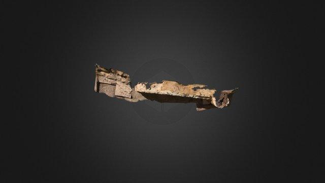 Paño de Muralla Castillo (Huelma, Jaen) 3D Model