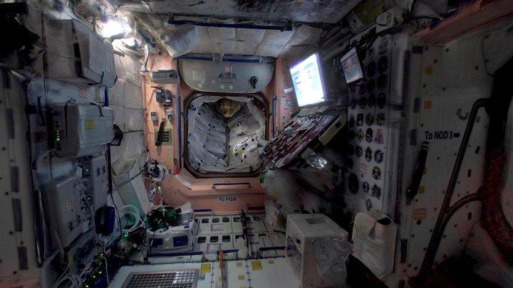 International Space Station - Interior 3D Model