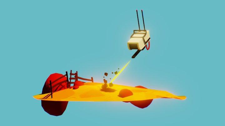 The Selefil_Robot from God s' Margarita 3D Model