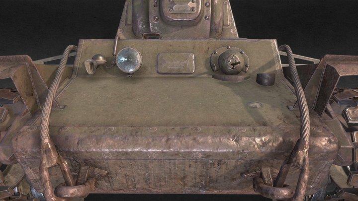 KV-1 3D Model
