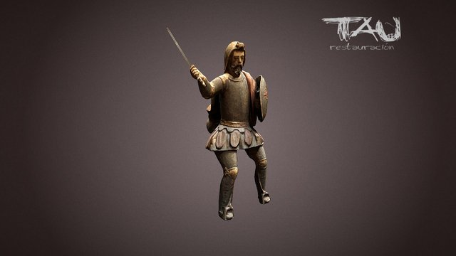 Tau restauracion - Santiago 3D Model