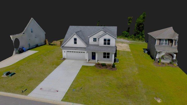 3713 Glencourse Way, Fayetteville NC 28311 3D Model